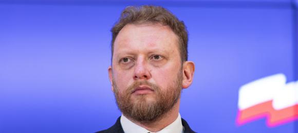 Zdjęcie: Minister Zdrowia Łukasz Szumowski - zakupy sprzętu robimy sami