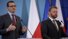 Walka z koronawirusem: Mateusz Morawiecki i Łukasz Szumowski opowiadają o szczegółach