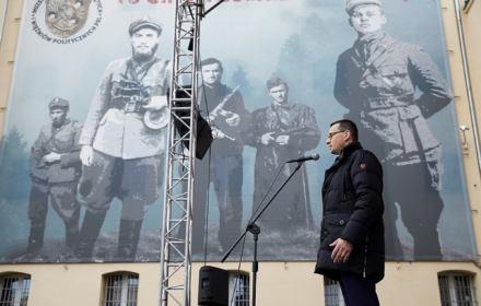 Premier Morawiecki twierdzi, że Wyklęci to trzon, z którego potem wyrosła Solidarność