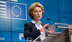 Press conference of Ursula von der Leyen, President of the European Commission and Charles Michel, President of the European Council on COVID-19