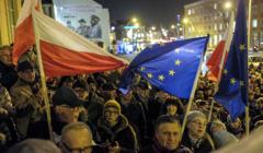 Wiec poparcia dla Unii Europejskiej