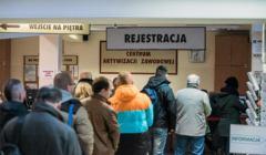 Czy Koronawirus spowoduje recesję? Kolejka do urzędu pracy w Bydgoszczy