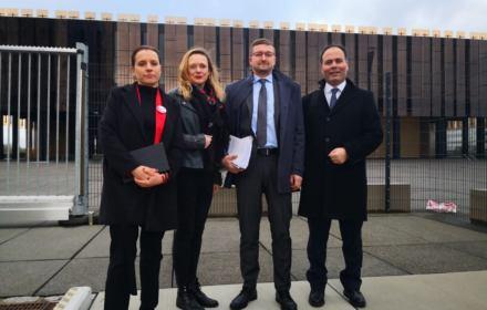 Sędziowie z Polski i Turcji przed TSUE / fot. Yavuz Aydin
