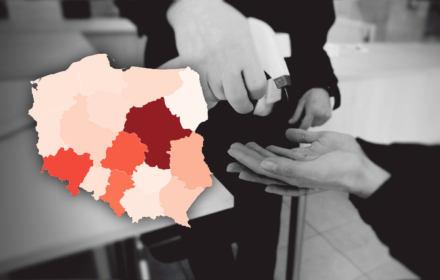 Koronawirus - statystyki. W Polsce rekord zachorowań, samorządy robią testy same