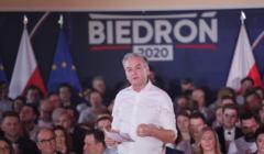 Konwencja wyborcza Robert Biedronia w Warszawie