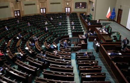 Sejm - głosowanie w sprawie nowej ustawy o wyborach