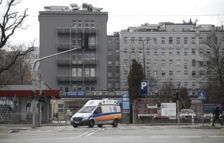 Zdjęcie: Śmierć z powodu koronawirusa w szpitali MSWiA