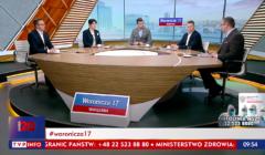 program Woronicza 17 w TVP Info, 15 marca 2020