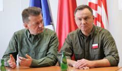 Andrzej Duda i Mariusz Błaszcak