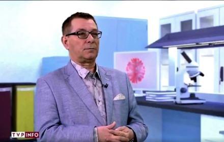 Koronawirus w TVP Info - zaproszony do studia ekspert dał popis niewiedzy