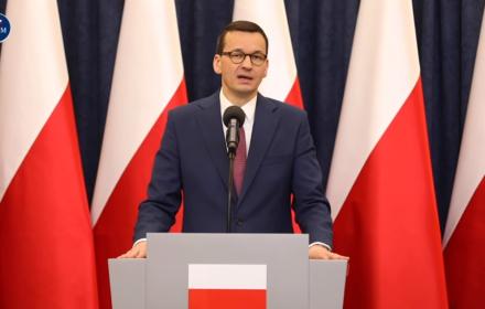 Premier Mateusz Morawiecki - na koronawirus tarcza antykryzysowa