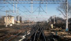 Zdjęcie - tory kolejowe