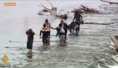 uchodźcy na granicy Turcja - Grecja