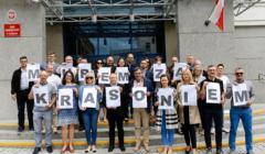 Murem za Krasoniem, akcja solidarności z prokuratorem Mariuszem Krasoniem