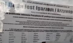 Obywatele RP Duda łgarzem