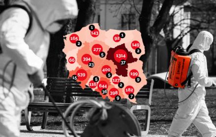 8 kwietnia - w Polsce 30 zgonów z powodu koronawirusa