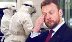 minister zdrowia Łukasz Szumowski - podaje się liczbę próbek, a nie osób