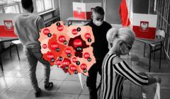 Raport ze stanu epidemii. Uzupełniające wybory samorządowe