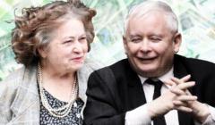 Janina Goss i Jarosław Kaczyński