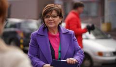 Konferencja prasowa poslanki PO Izabeli Leszczyny w Czestochowie