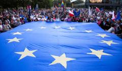 Protest w Krakowie w obronie Sadu Najwyzszego