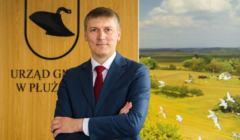 Marcin Skonieczka, wójt gminy Płużnica