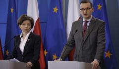 Konferencja prasowa premiera Mateusza Morawieckiego ws. epidemii koronawirusa w Polsce