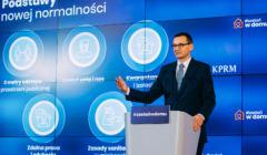 Mateusz Morawiecki prezentuje program odmrażania gospodarki