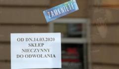 Zamkniety sklep w Kielcach