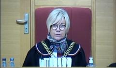 Julia Przyłębska / Trybunał Konstytucyjny / posiedzenie online