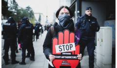 Protest przeciwko zakazowi aborcji