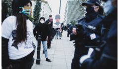 Kolejka po wolność - protest pod Sejmem
