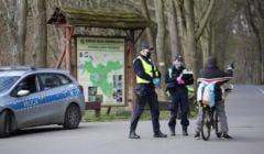 Jazda na rowerze po parku może spowodować interwencję policji