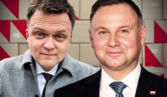 Sondaż Szymon Hołownia i Andrzej Duda