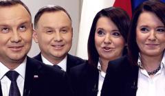 Andrzej Duda i Danuta Holecka w TVP na 5 lat Dudy
