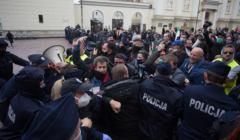 Strajk przedsiebiorcow - w Warszawie