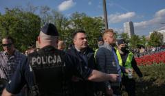 Strajk Przedsiębiorców - zdjęcie z protestu
