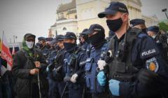 protest policja