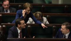 Emilewicz, Morawiecki, Schreiber,PiS przepchnął nową ustawę wyborczą