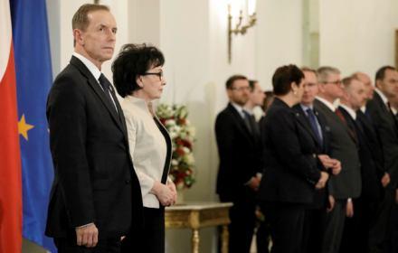 Tomasz Grodzki i Elżbieta Witek - trwa spór o nową datę wyborów prezydenckich