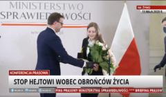 Marcin Romanowski i Zuzanna Wiewiórka
