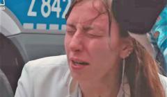policja - kobieta zaatakowana gazem