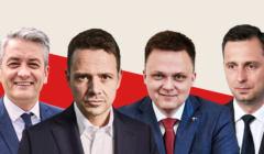Biedroń, Trzaskowski, Hołownia, Kosiniak-Kamysz