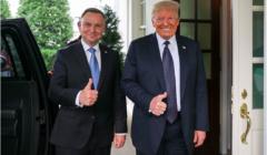 Andrzej Duda, Donald Trump, fot. Jakub Szymczuk, KPRP