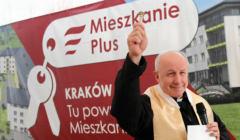 Akt erekcyjny pod budowe osiedla Mieszkanie Plus w Krakowie