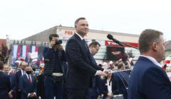 Prezydent Andrzej Duda w Wieluniu