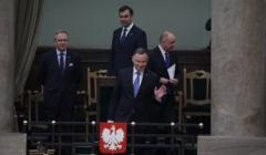 Andrzej Duda w Sejmie - zaproponował dodatek solidarnościowy