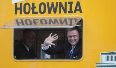 Szymon Hołownia Debata kandydatów na stanowisko prezydenta RP w TVP w Warszawie