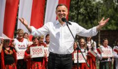 Andrzej Duda w Jedrzejowie