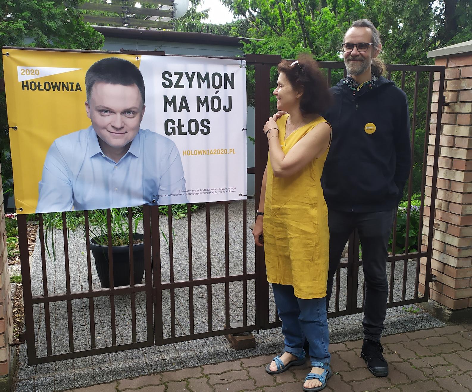 wyborcy Hołowni